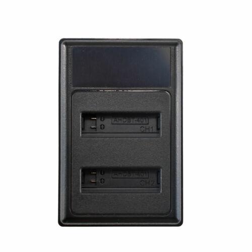 501 AHDBT 501 GoPro 5 6 Hero 5 AHDBT 501 Batería Dual Tarjeta Para Hero 5 Hero 6 AHDBT