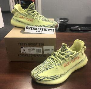 9 Kanye 350 Sz B37572 Adidas Yeezy Boost Frozen V2 Yellow BaBYzwqF