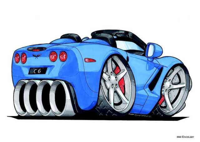 """Corvette C6 T-Shirt /""""Street Fighter/"""""""