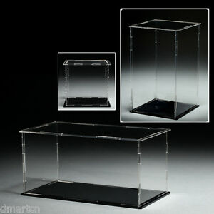 Size-5cm-x-5cm-x-5cm-Acrylic-Plastic-Display-Case-Box-Dustproof-Self-Assembly