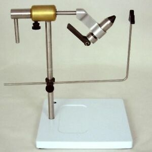 Angelsport-Fliegen-Bindematerialien Peak Rotary Vise With Pedestal Fly Tying Made In USA GREAT NEW Angelsport-Artikel