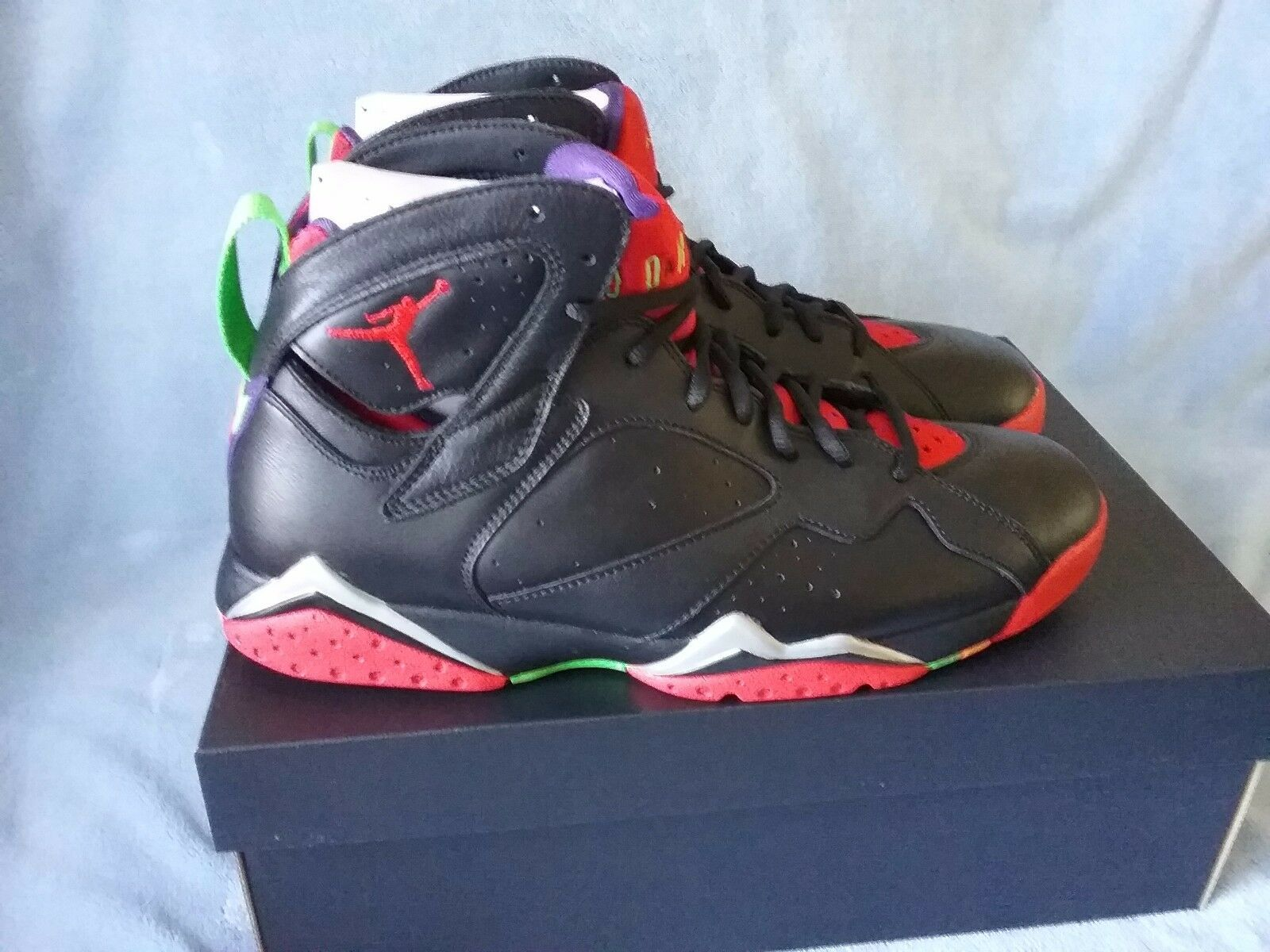 Para hombres Jordan Marvin 7 Retro Nike Air Marvin Jordan The Martian 304775029 10 58a74e