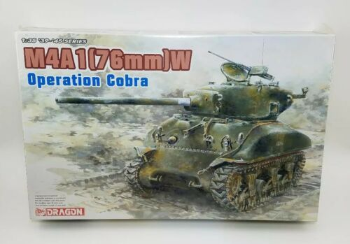 """DRAGON 6083 1//35 M4A1 W SHERMAN TANK  /""""Operation Cobra/"""" 76"""