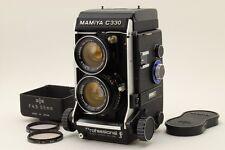[MINT++] Mamiya C330 Professional F+ Sekor 55mm Lens Kit w/ Hood from Japan #458