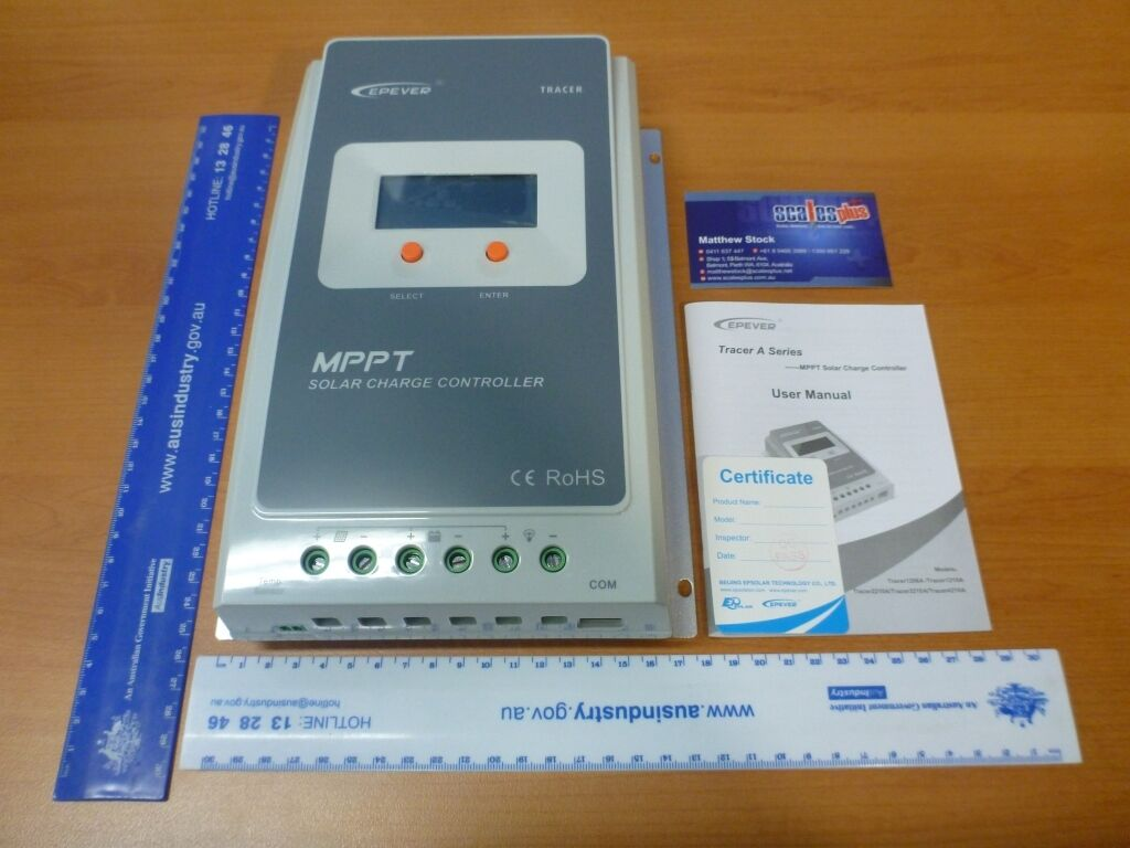 Solar Panel Deep Cycle Battery MPPT Charging Controller InGrüner 40A 12V 24V