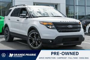 2013 Ford Explorer Sport Sport   4WD   Remote Start   3rd Row   Heated/Cooled Seats   Back-Up Camera   Bluetooth