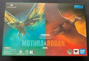 S-H-MonsterArts-Mothra-amp-Rodan-2019-Set-Bandai-Godzilla-King-Of-The-Monsters
