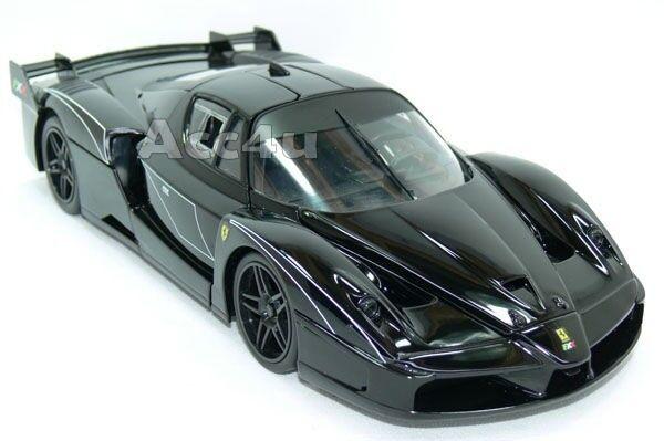 Hot Wheels Ferrari Negro Negro Negro Fxx Evoluzione 1 18 Diecast Model Car 5db33d