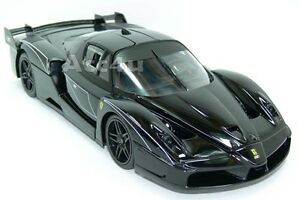 Hot-Wheels-Ferrari-Black-FXX-Evoluzione-1-18-Diecast-Model-Car