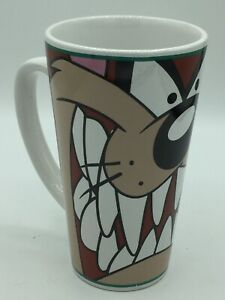 Gibson-Warner-Bros-Looney-Tunes-Taz-Tall-Tazmanian-Devil-Coffee-Mug-Vintage-1998