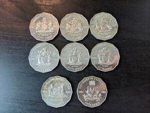 2001-AUSTRALIAN-50-CENT-COIN-CENTENARY-OF-FEDERATION-MIX-x8-PACK
