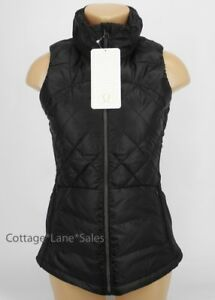 NEW-LULULEMON-Down-For-A-Run-Original-Vest-6-Black-Goose-Down-NWT-FREE-SHIP