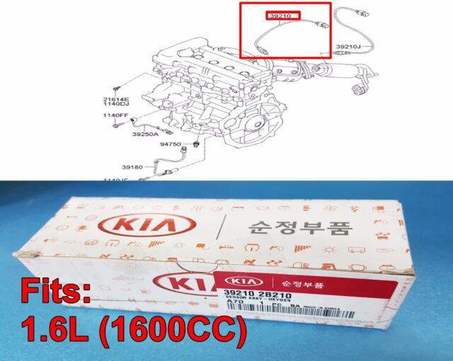 for 2012-2015 Kia Rio Soul 1.6L L4 ol NGK Downstream NTK Oxygen O2 Sensor