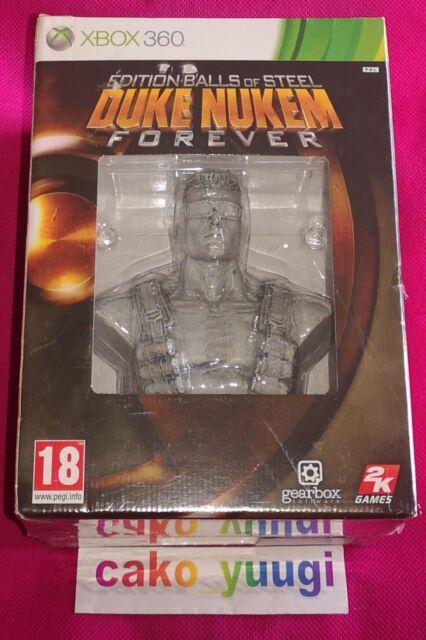 DUKE NUKEM FOREVER EDITION COLLECTOR BALLS OF STEEL NEUF XBOX 360 FRANCAIS