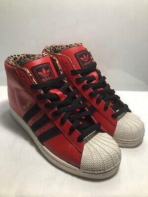 Adidas Mens SZ 8.5 Shell Toe Red