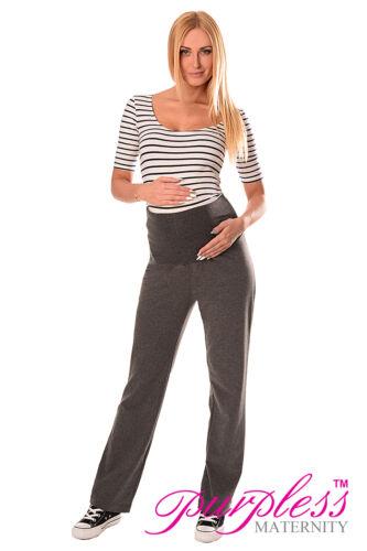 Purpless Maternity Wide Leg Pregnancy Yoga Lounge Trousers Leggings 1300