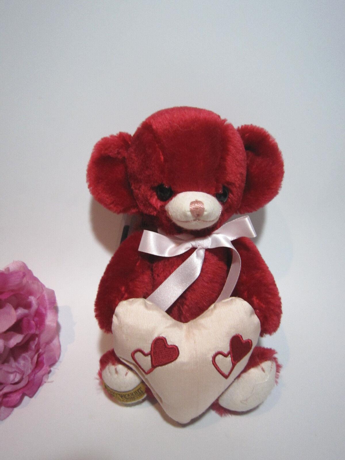 Merrythought rot rot rot mohair Sweetheart Cheeky bear 8''. Ltd.Gorgeous. e8ae66