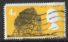 GB, Jodrell Bank Radio Telescope, yellow 1966 - see scan
