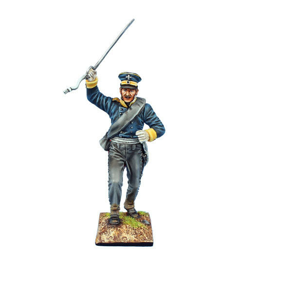 NAP0578 Preussisk 3 e Silesisk Landwehrofficer av First Legion