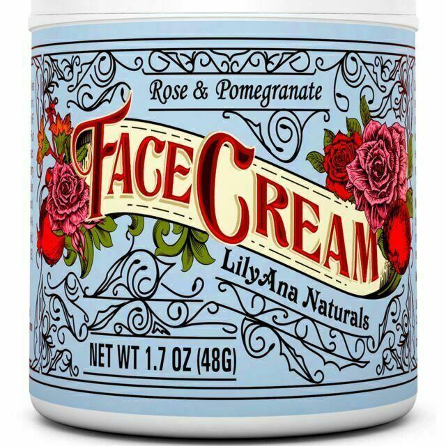 LilyAna Naturals Anti Aging Face Moisturizer Cream - 1.7oz