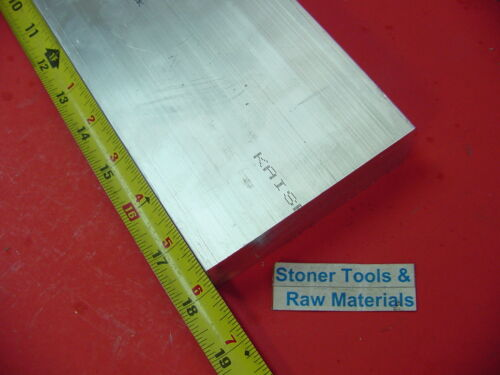 """2 Pieces 1/"""" X 4/"""" ALUMINUM 6061 T6511 FLAT BAR 18/"""" long Solid Extruded Mill Stock"""