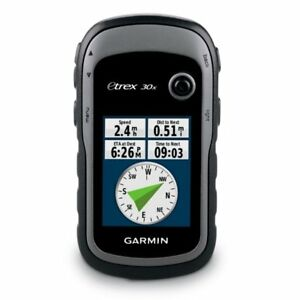Garmin eTrex 30x Outdoor GPS With GLONASS, Compass and Altimeter 010-01508-10