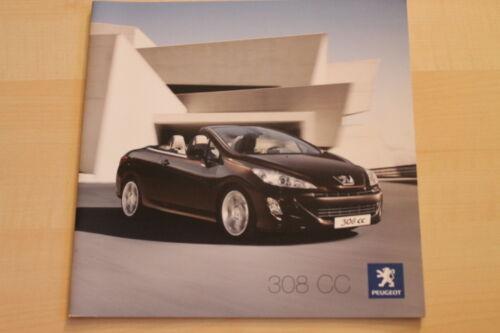 73426 Peugeot 308 CC Prospekt 03//2009