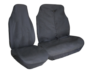 Free Delivery VAUXHALL MOVANO LWB Universal Van Seat Covers Leatherette Black