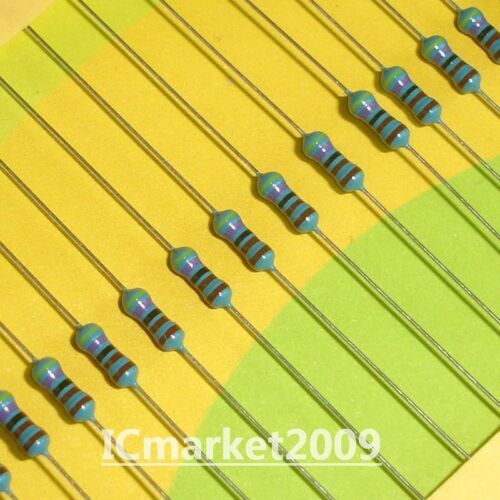1000 PCS 1//4W-4.7K 1/% 1//4 WATT 4.7KOhm 4K7 Ohm Metal Film Resistor 0.25W 4.7KΩ