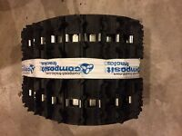 Composit Snowmobile Track T32 120 X 15 X 1.25 Lug 2.86 Pitch, Fully Clipped