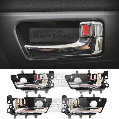 Chrome Door Handle Catch Molding Set Fit: Kia Forte Cerato 2009-2013