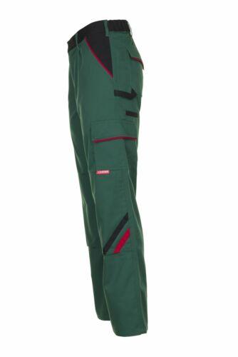 Planam Highline Herren Bundhose grün schwarz rot Modell 2325