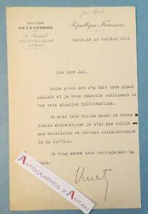 Lettre-1921-General-Edmond-BUAT-chef-Etat-Major-Armee-121e-D-I-Chalons-sur-Marne