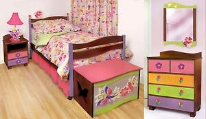 5 Piece Boys Like Trucks Bedroom Set