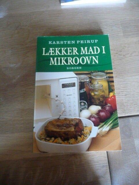 Lækker mad i Mikroovn, Karsten Peirup, emne: mad og vin