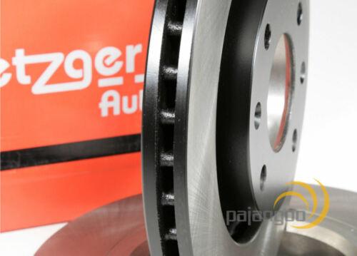 Metzger Bremsscheiben und Bremsbeläge für vorne 3B VW Passat