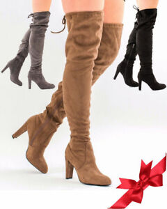 Winter Porn Knee Thigh Girls Boots