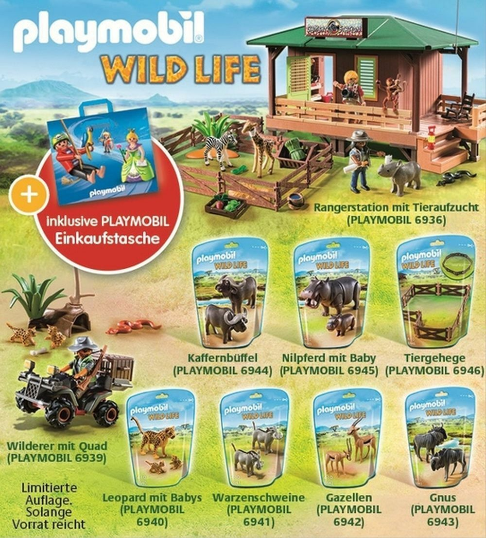 PLAYMOBIL 10102 Wild Life Bundle-EDIZIONE LIMITATA