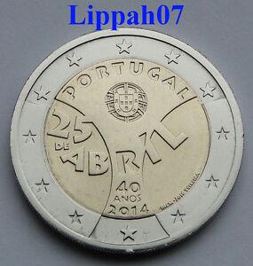 Portugal-speciale-2-euro-2014-Anjerrevolutie-UNC