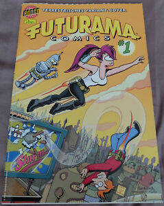 2001 Variant Cover Edition Mit Poster! Futurama Nr.1