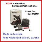 Rode VideoMicro Compact On Camera Microphone For DJI OSMO