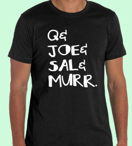 Q Joe Sal Murr Impractical Jokers Squad New Black T-shirt S M L XL 2XL 3XL