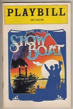 """Show Boat""  Broadway  Playbill 1983   Donald O'Connor & Lonette McKee"
