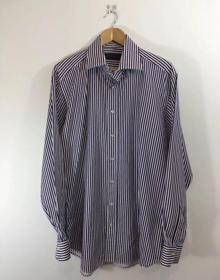 ETRO Milano camicia abito di cotone circonferenza EU 43 XL