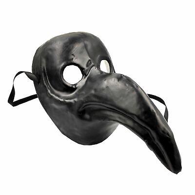 Adulti Nero Autentico Cult Medico Della Peste Maschera Steampunk Halloween Bestia-mostra Il Titolo Originale