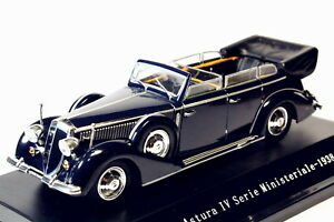 1-43-starline-Lancia-Astura-Ministeriale-IV-Serie-1938-BLUE-Diecast-model-Toy