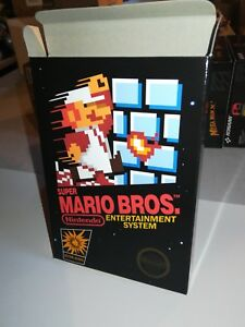 Super-Mario-Bros-Box-Only-NES-Nintendo-Replacement-Art-Case-Box