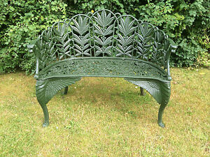 Prime Details About Green Laurel Design Cast Iron Garden Bench Antique Style Bench Onthecornerstone Fun Painted Chair Ideas Images Onthecornerstoneorg