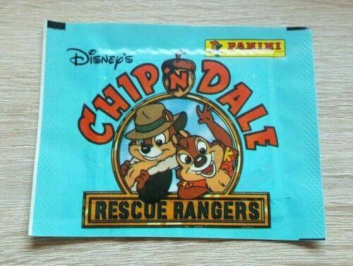 PANINI 1 Sac Chip /'n Dale Rescue Rangers CHIP CHAP Bustina Pack Pochette Disney