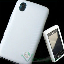 Custodia BIANCA in silicone bianco per LG KP500 KP502